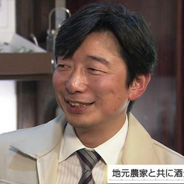 泉橋酒造株式会社 代表取締役 橋場友一さん